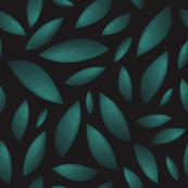Leaves At Night