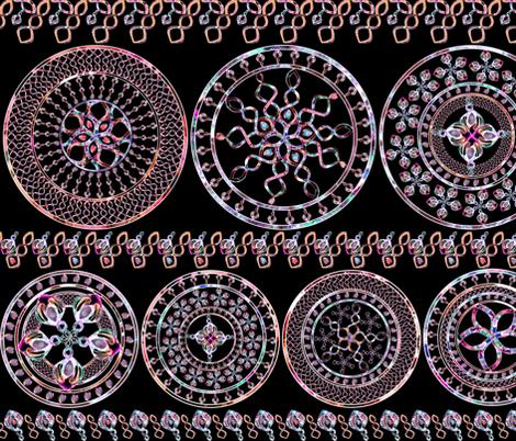 Mandalas_Wheels_ fabric by joanna_rose on Spoonflower - custom fabric