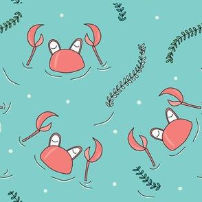 swimming-crabs