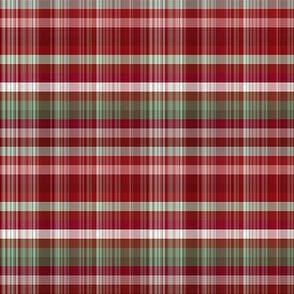 Red Green White Plaid