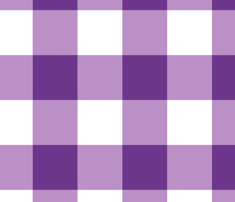 Buffalo Check in purple fabric by domesticate on Spoonflower - custom fabric