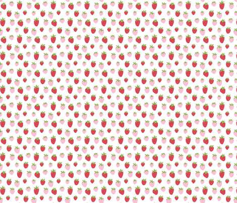 Berry Sweet small fabric by jillbyers on Spoonflower - custom fabric