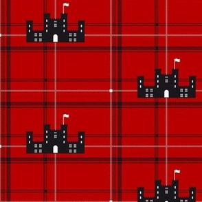 Scottish castle - Red