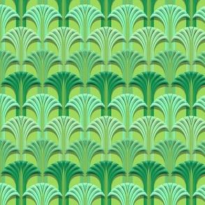 Deco Fan Brill Green small