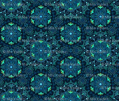 Mandala Cerulean