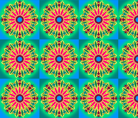 Mandala-ingAround fabric by grannynan on Spoonflower - custom fabric