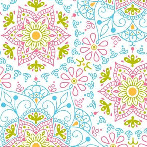Mandala_Spring BlueSky