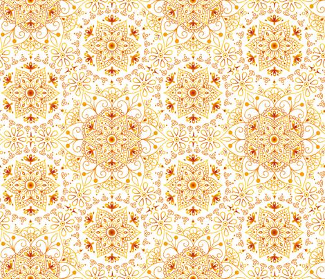 Mandala_Passion fabric by mia_valdez on Spoonflower - custom fabric