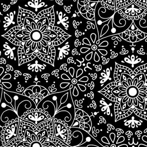 Mandala_Black and White