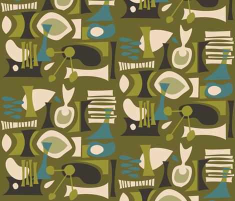 Kanlaon fabric by theaov on Spoonflower - custom fabric