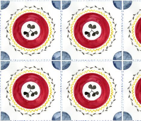 Iberian Medallions fabric by laurenservati on Spoonflower - custom fabric