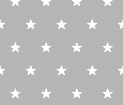 Stars fabric by doodleandcharm_ on Spoonflower - custom fabric