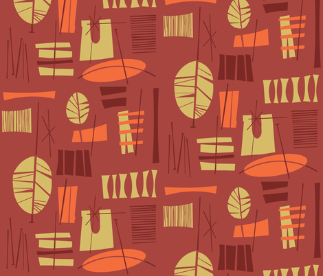 Hibok-Hibok fabric by theaov on Spoonflower - custom fabric