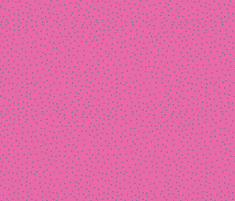 Geometric Pink Polka Dots fabric by katievaz on Spoonflower - custom fabric
