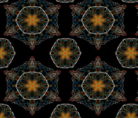 mandala fabric by belana on Spoonflower - custom fabric