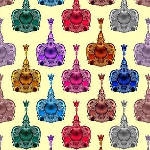 Fractal Perfume Bottles