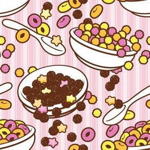 I'll just have cereal (pink)