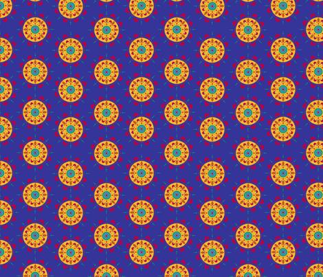 Mandalamandalamandala fabric by thepurplepeach on Spoonflower - custom fabric