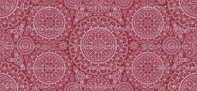 Red Mandalas