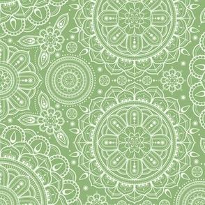 green_Mandalas