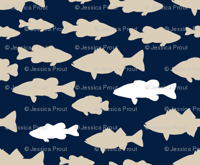 fish || rustic woods collection