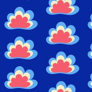 Happy Clouds on Navy