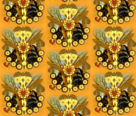 The World's True Queen Mandalas fabric by disneymamom on Spoonflower - custom fabric