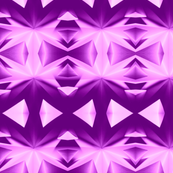 Geometrical abstraction. Pink and purple.