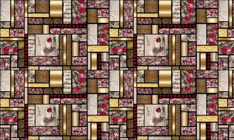 Your Inner Beauty is Showing fabric by steadythreadsstudio on Spoonflower - custom fabric