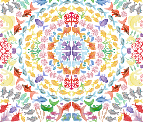 Findala fabric by ladyrattus on Spoonflower - custom fabric