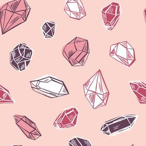 Diamonds in pink