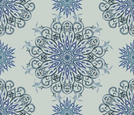 Mandala3 fabric by lusine on Spoonflower - custom fabric