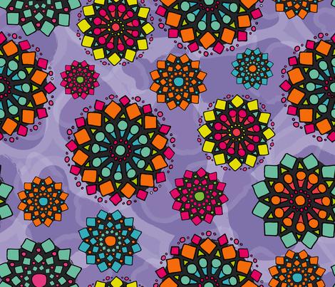 MarchMandalas fabric by lisa_travis on Spoonflower - custom fabric