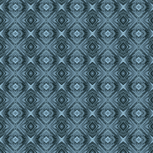 Steel Blue Diamond Brocade