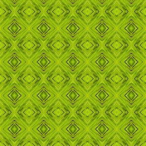 LLG - Lime Green Diamond Brocade