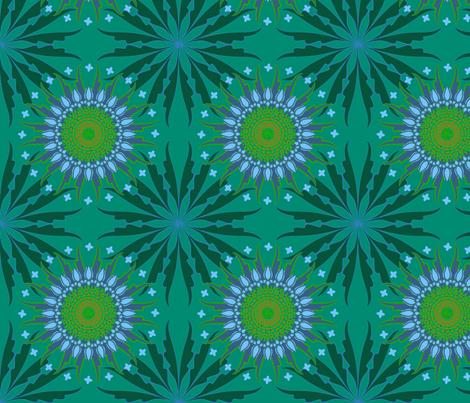 Mandala_THREE-01 fabric by marisahernández on Spoonflower - custom fabric