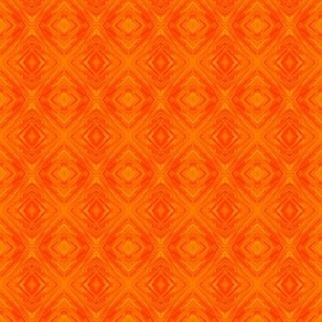 Orange Diamond Brocade