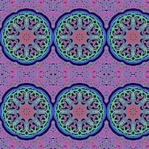 Bohemian Gypsy Wheels on Pink Diamond Paths