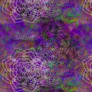 SCATTERED MANDALA IMBROGLIO PURPLE