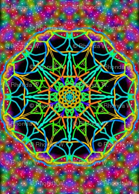 Cosmic Wheels on a Celestial Carpet.