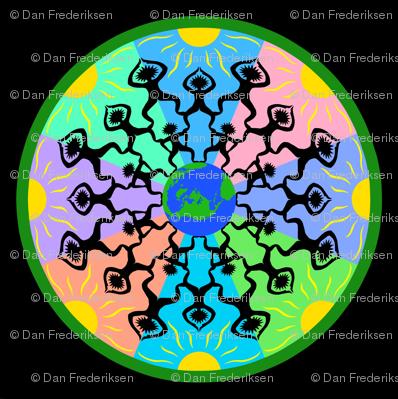 Side by side Mandala