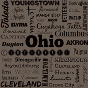 Ohio Cities, gray