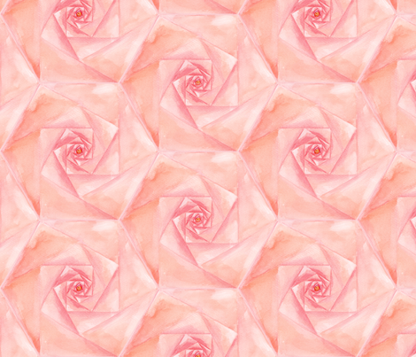 HexRose fabric by atlanticmoira on Spoonflower - custom fabric