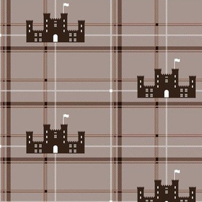Scottish castle - Brown
