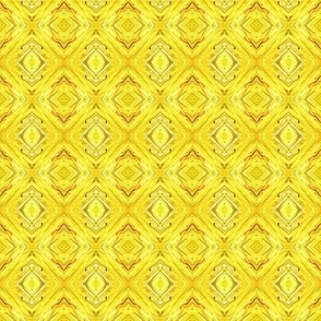 Brilliant Yellow Diamond Brocade