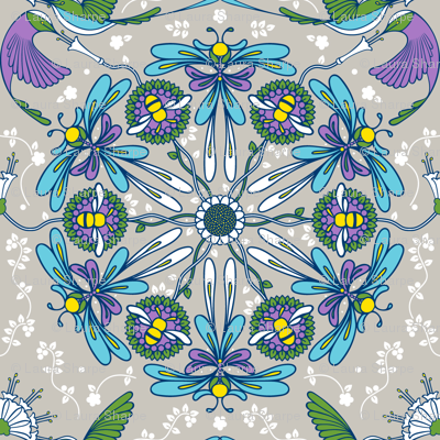 Mandala Pollinators