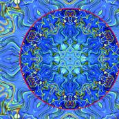 Mussel Shell Mandala