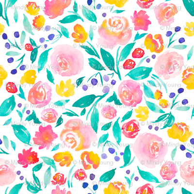 indy bloom design Flora Jane A
