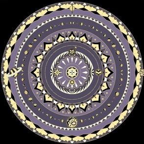 Solar System Mandala