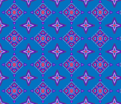 Dr. Blue fabric by franbail on Spoonflower - custom fabric